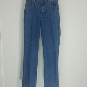 Wrangler jeans high waist straight leg